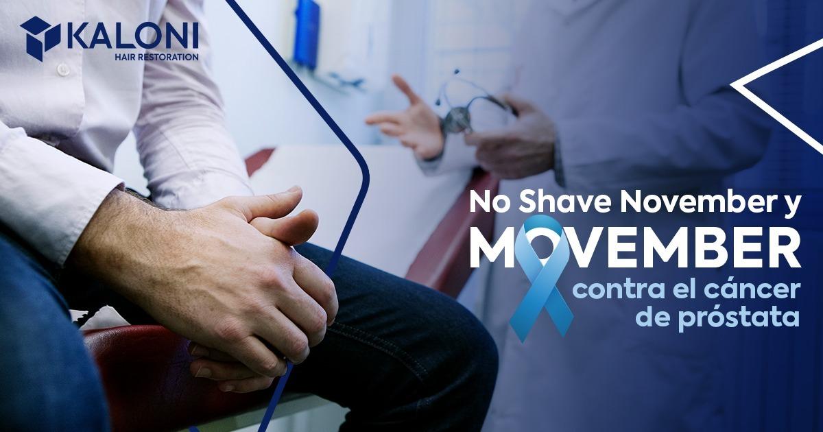 movember no shave november salud masculina y detección de cáncer de próstata