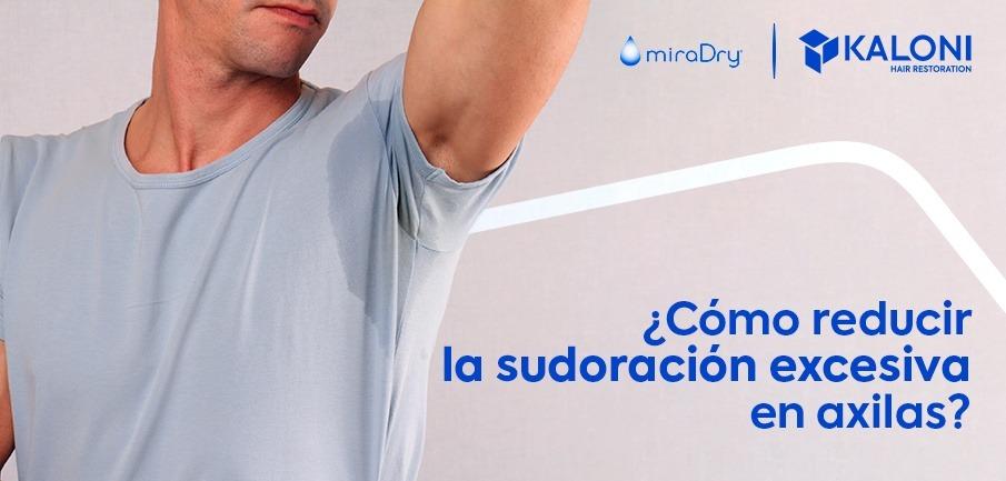 miradray: reduce sudoración excesiva