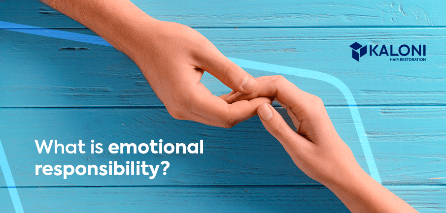 What is emotional responsibility?