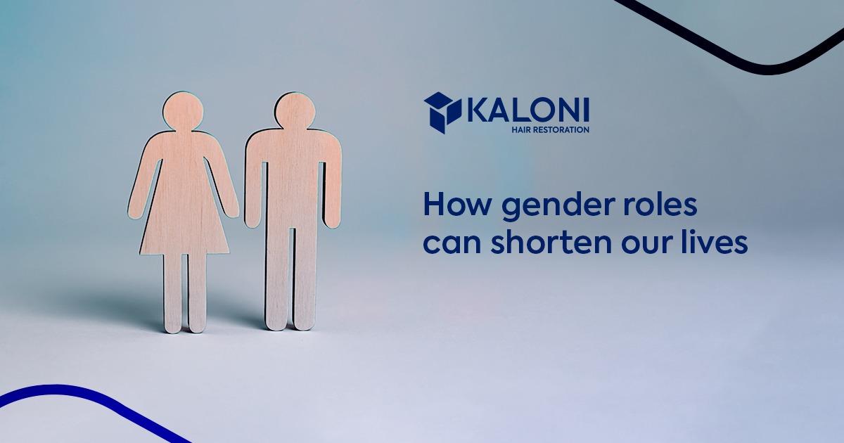 the gender roles shorten our lives