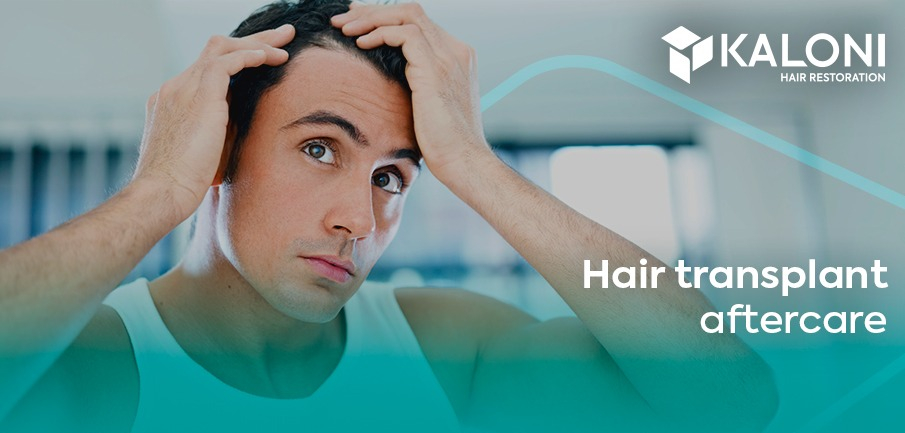 hair transplant after care