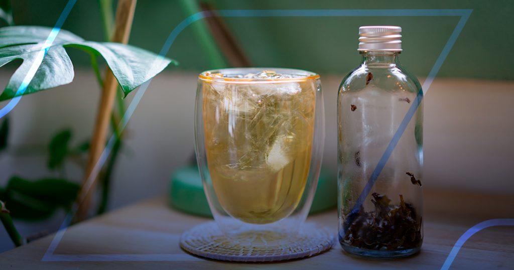 beber mais água com chás ou infusões