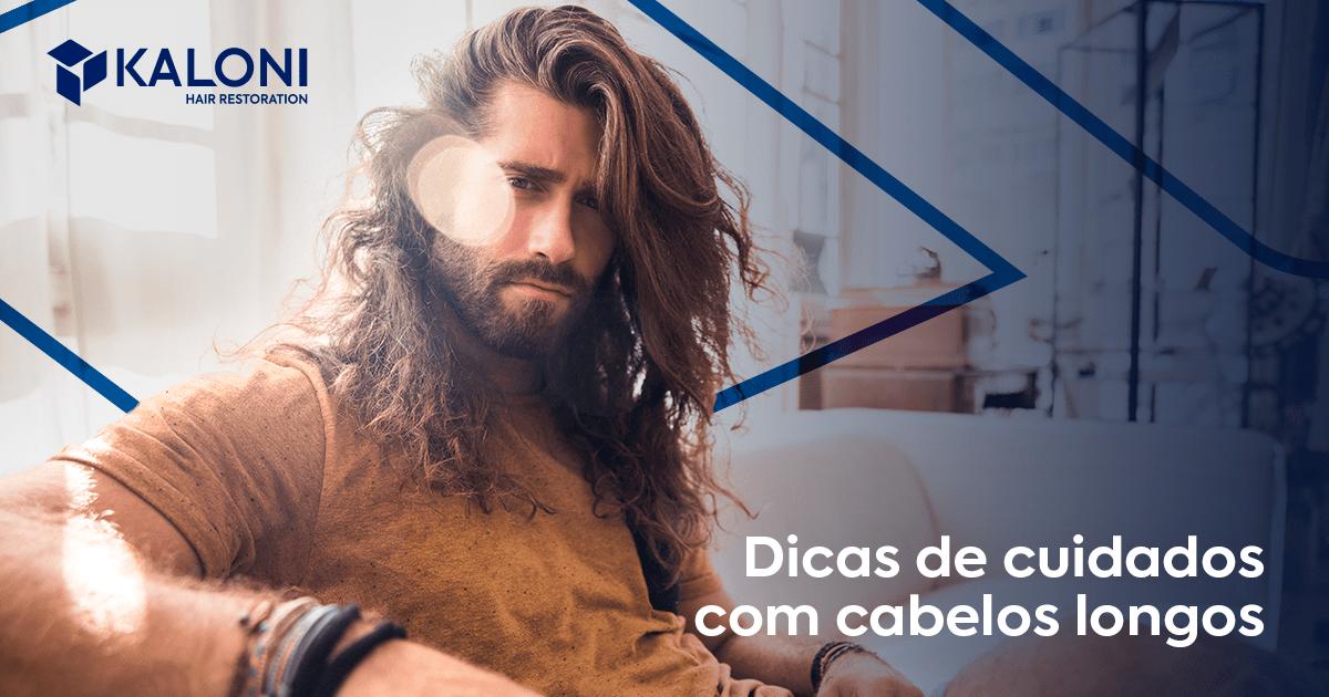 cabelos longos nos homens